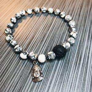 Essential Oil Diffuser Lava Stone Bracelet